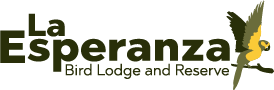 La Esperanza: A Bird Lodge Logo